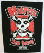 Misfits - 'New Jersey' Giant Backpatch